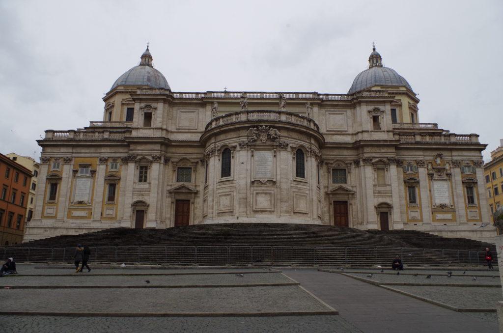 Back side of Santa Maria Maggiore