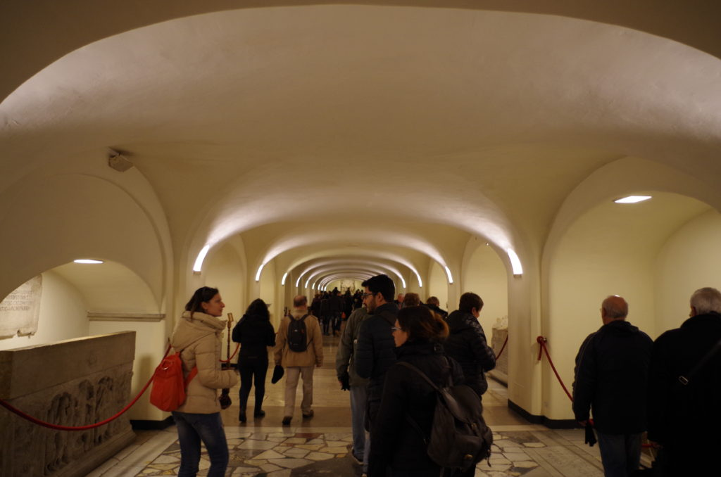 Crypt of St. Peter Basilica