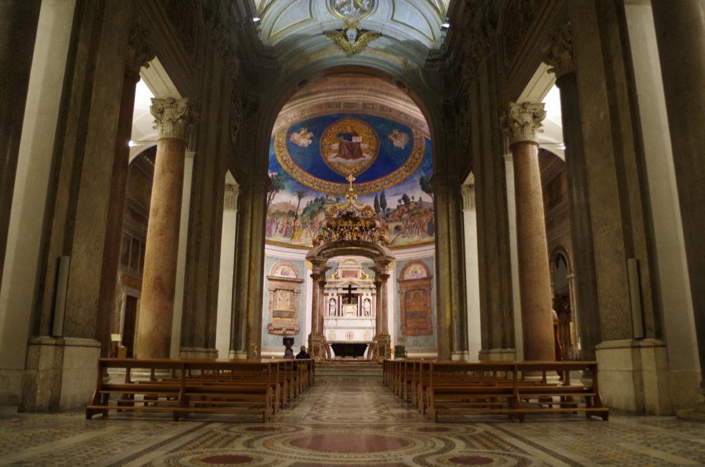 Nave of Santa Croce in Gerusalemme