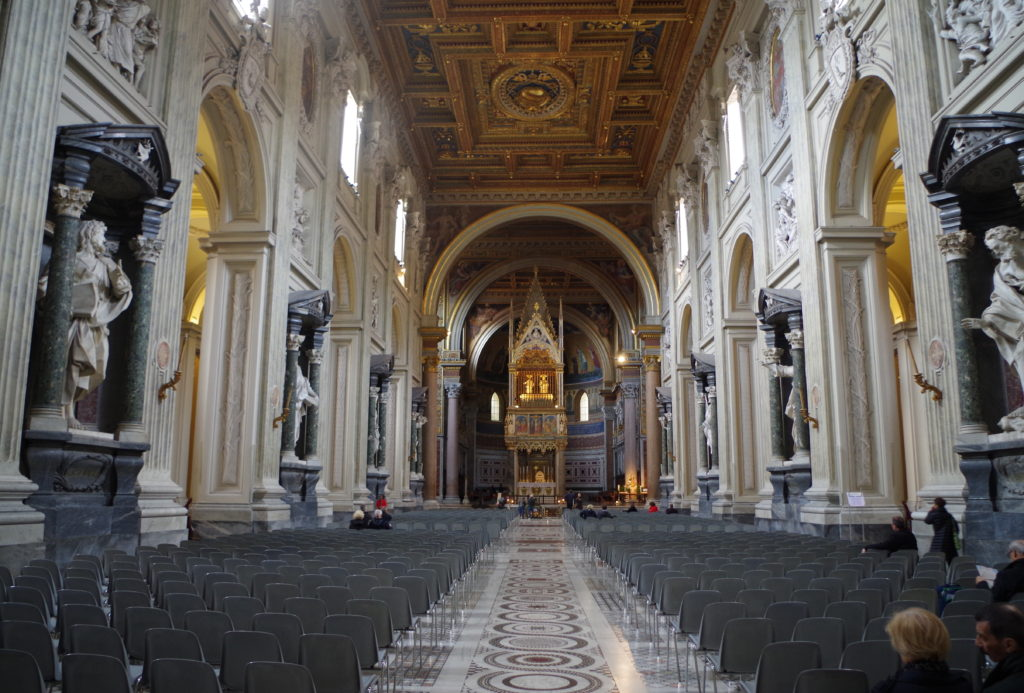 Aisle of St Giovanni