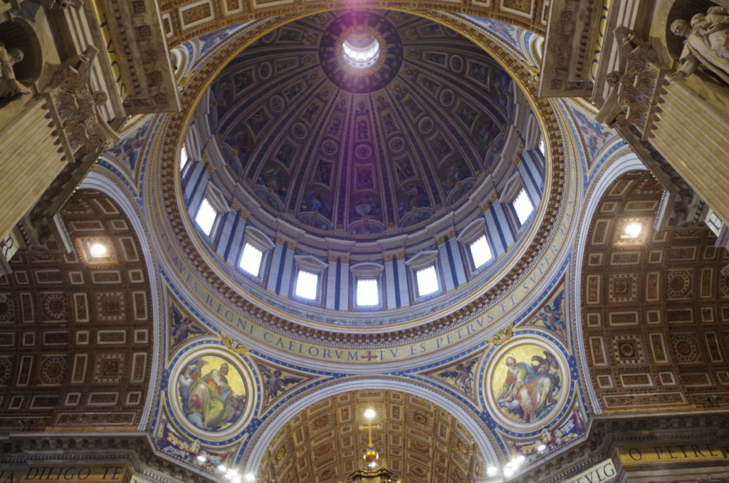 Big Dome of the St Peter's Basilica.